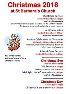 Advent Carol Service at St Barbara's Church @ St Barbara's  Church