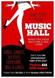 Ashton Player's 'Music Hall' @ Ashton Village Hall