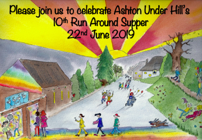 Run Around Supper celebrates TEN fun filled gastronomic years!